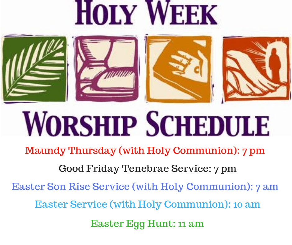 Maundy Thursday (with Holy Communion)_ 7 pm